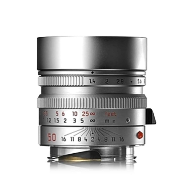 Leica Summilux-M 50mm F1.4 Aspherical Lens (silver)