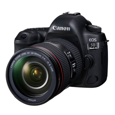 Canon EOS 5D Mark IV DSLR with 24-105mm L IS II Lens - Open Box