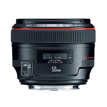 Canon EF 50mm F1.2L Lens