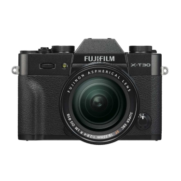 Fujifilm X-T30 Camera (black) with 18-55mm f2.8-4 Lens