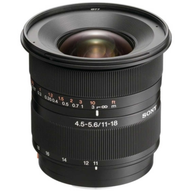 Sony 11-18mm f4.5-5.6 DT Lens