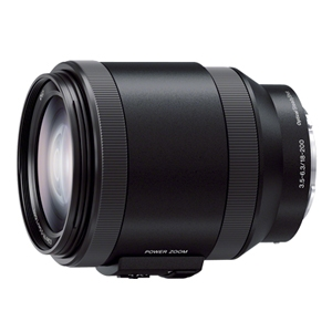 Sony E 18-200mm LE F3.5-6.3 OSS Power Zoom Lens