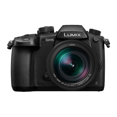 Panasonic DC-GH5 Camera with 12-60mm Leica Lens
