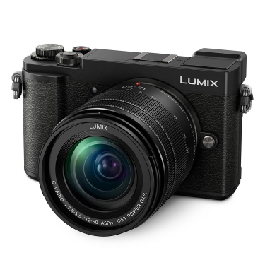 Panasonic Lumix GX9 Camera (black) with 12-60mm Lens
