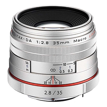Pentax DA 35mm F2.8 Macro HD Limited (silver)