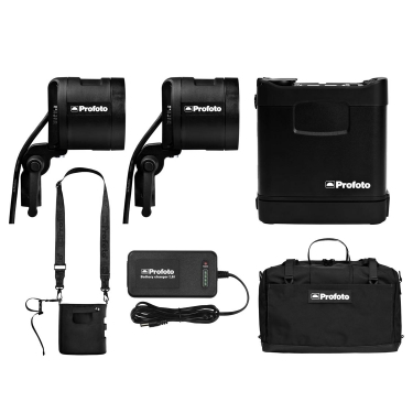 Profoto B1 500 AirTTL Location Kit (2 light)