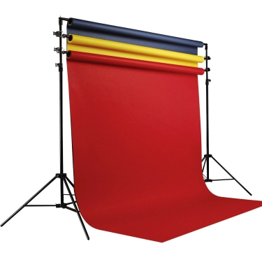 Savage Multiple Polevault Background Stand 3-Roll