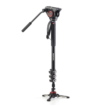 Manfrotto XPRO Video Monopod with MVH500AH Head