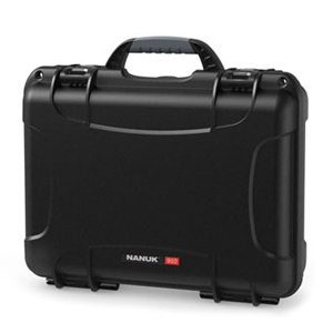 Nanuk 910 Case with Cube Foam (black)