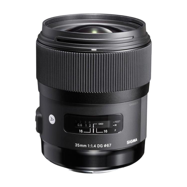 Sigma 35mm F1 4 DG HSM Art Lens for Sony E-mount