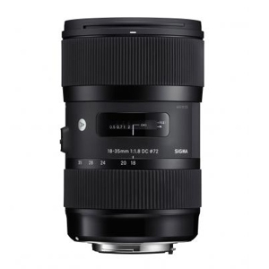 Sigma 18-35mm F1.8 DC HSM Lens (Canon)