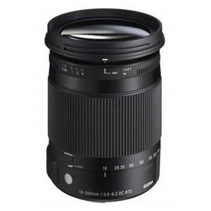 Sigma 18-300mm F3.5-6.3 DC OS HSM Contemporary Lens (Nikon)