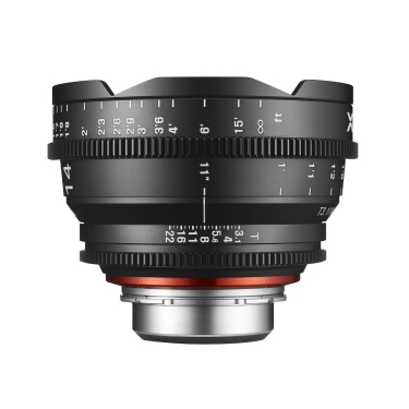 Rokinon 14mm T3.1 Xeen Professional Cine Lens for Micro 4/3 Mount