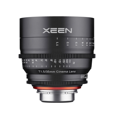 Rokinon 35mm T1.5 Xeen Professional Cine Lens for Canon EF Mount