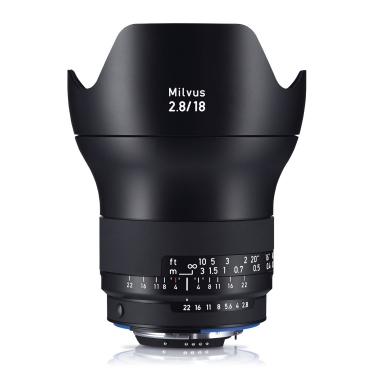 Zeiss Milvus 18mm F2.8 ZE for Canon EF Mount