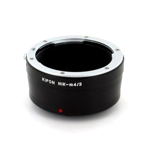 Kiwi Camera Mount Adapter for Nikon F to Micro Four Thirds