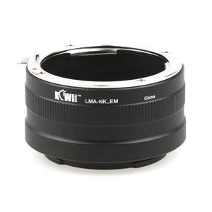 Kiwi Camera Mount Adapter for Nikon F to Sony NEX