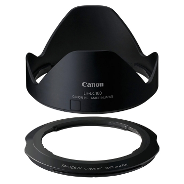 Canon LH-DC100 Lens Hood and FA-DC67B Filter Adapter