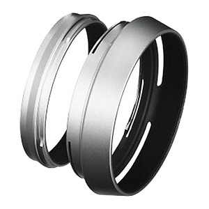 Fuji LH-X100 Lens Hood and Ring (black)