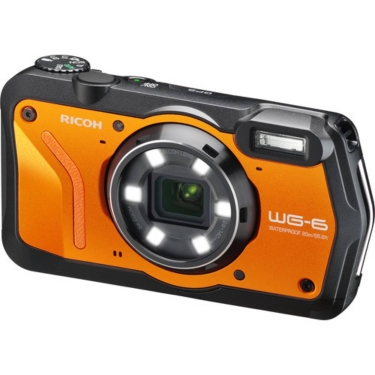Ricoh WG-6 Waterproof Camera (Orange)