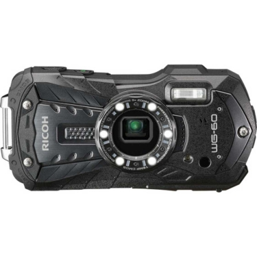 Ricoh WG-60 Waterproof Digital Camera (black)