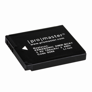 Promaster DMW-BCK7 Panasonic Battery