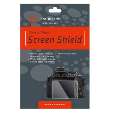 Promaster Crystal Touch Screen Protector (Olympus EM10MKIII EM10MKII EM10 EM1 EPL9 EPL8 EPL7 EP5 Fuji XT3)