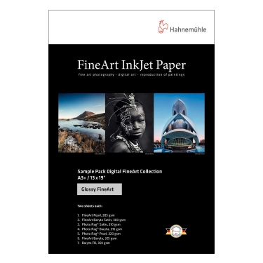 Hahnemuhle 8.5x11 FineArt Gloss Sample Pack