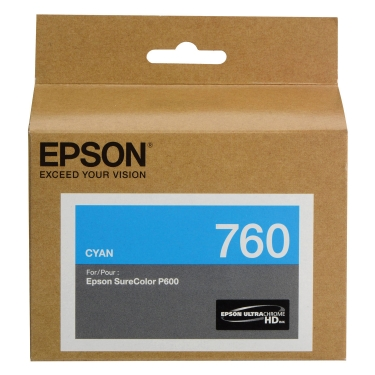 Epson Cyan Ink Cartridge for P600 (T760220)