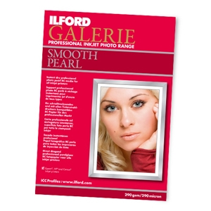 Ilford Galerie 8.5x11 Smooth Pearl (25 sheets)
