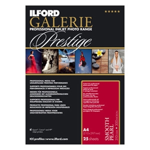 Ilford Prestige Smooth Pearl 11x17 Paper (25 sheets)