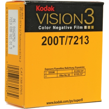 Kodak Super 8 200T Color Neg 50ft
