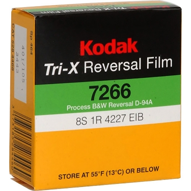 Kodak Super 8 Tri-X Reversal 50FT