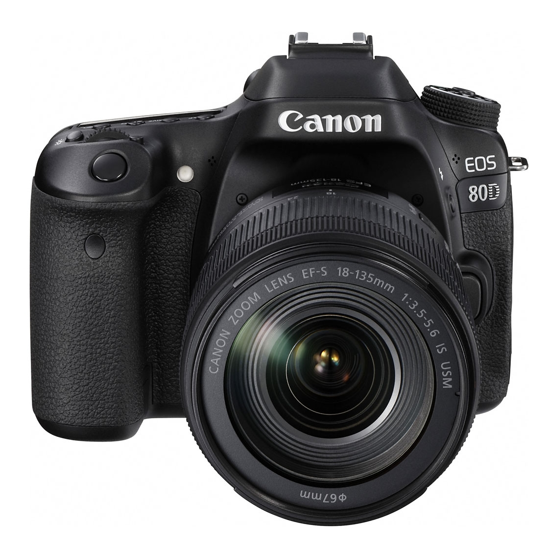 Canon EOS 80D DSLR with 18-135mm IS USM Lens