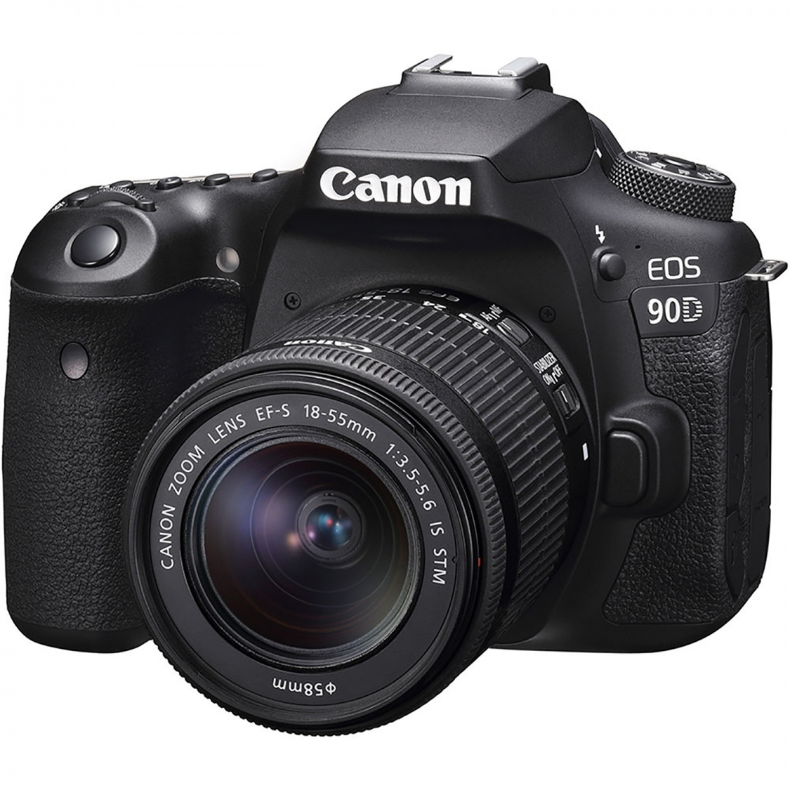 Canon EOS 90D DSLR and 18-55mm IS STM Lens