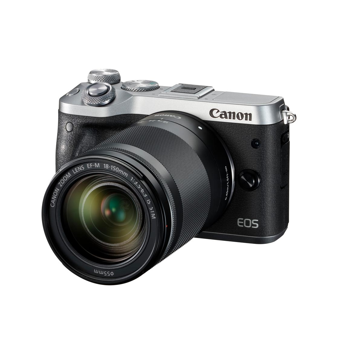 Canon EOS M6 Camera with 18-150mm Lens (silver)