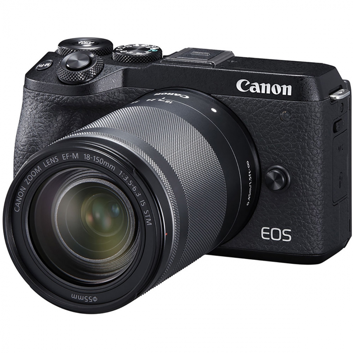 Canon EOS M6 Mark II with 18-150mm Lens and EVF