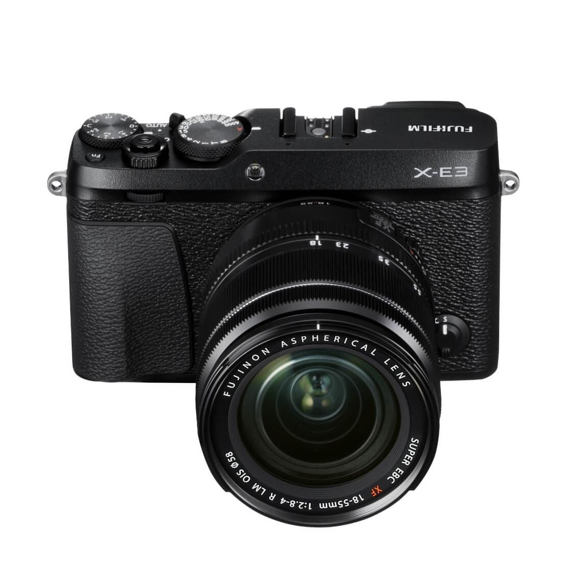 Fuji X-E3 Camera (black) with 18-55mm Lens