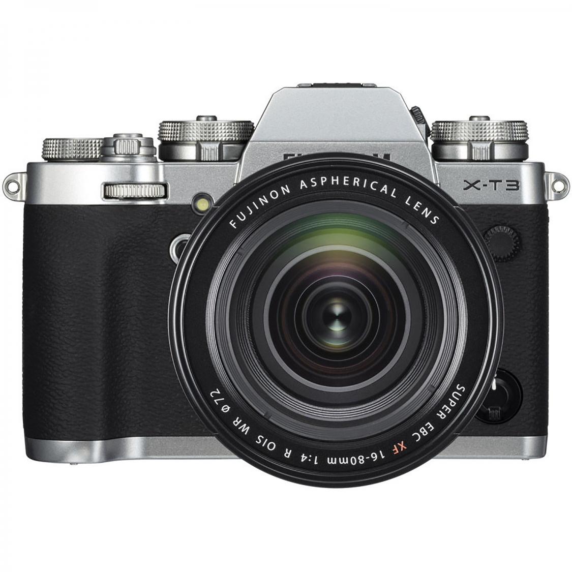 Fujifilm X-T3 Silver with 16-80mm f4 Lens