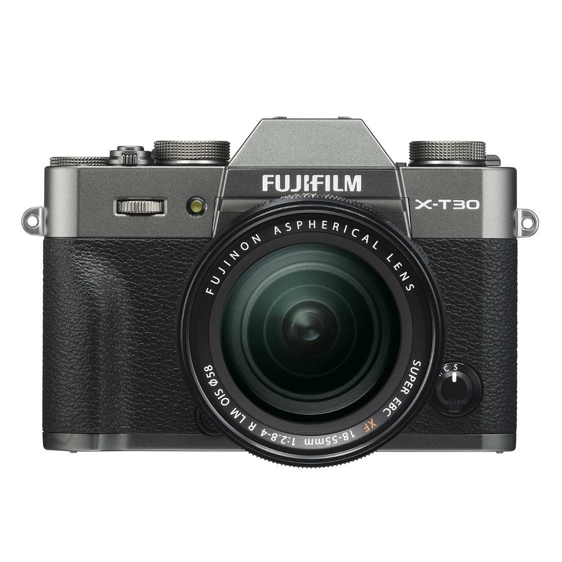 Fujifilm X-T30 Camera (charcoal) with 18-55mm f2.8-4 Lens