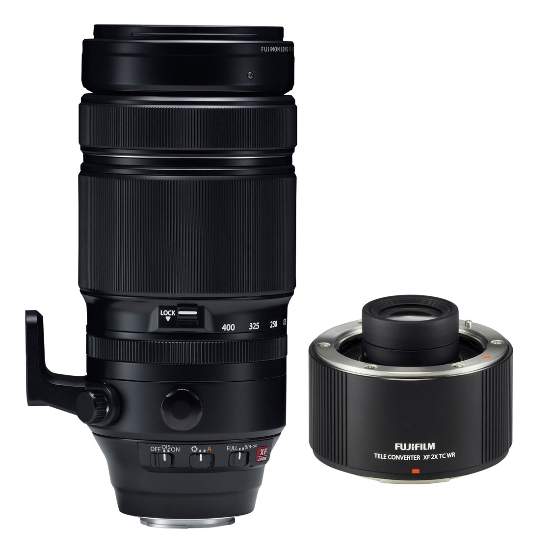 Fuji XF 100-400mm F4.5-5.6 R LM OIS WR Lens and 2.0X Teleconverter