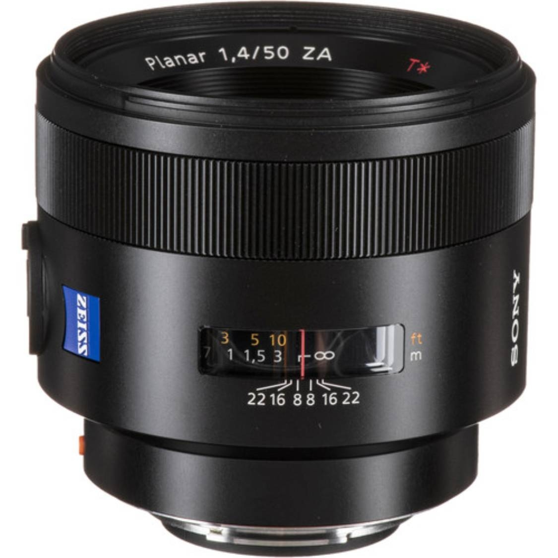 Sony Planar T* 50mm f/1.4 ZA SSM Lens - Open Box