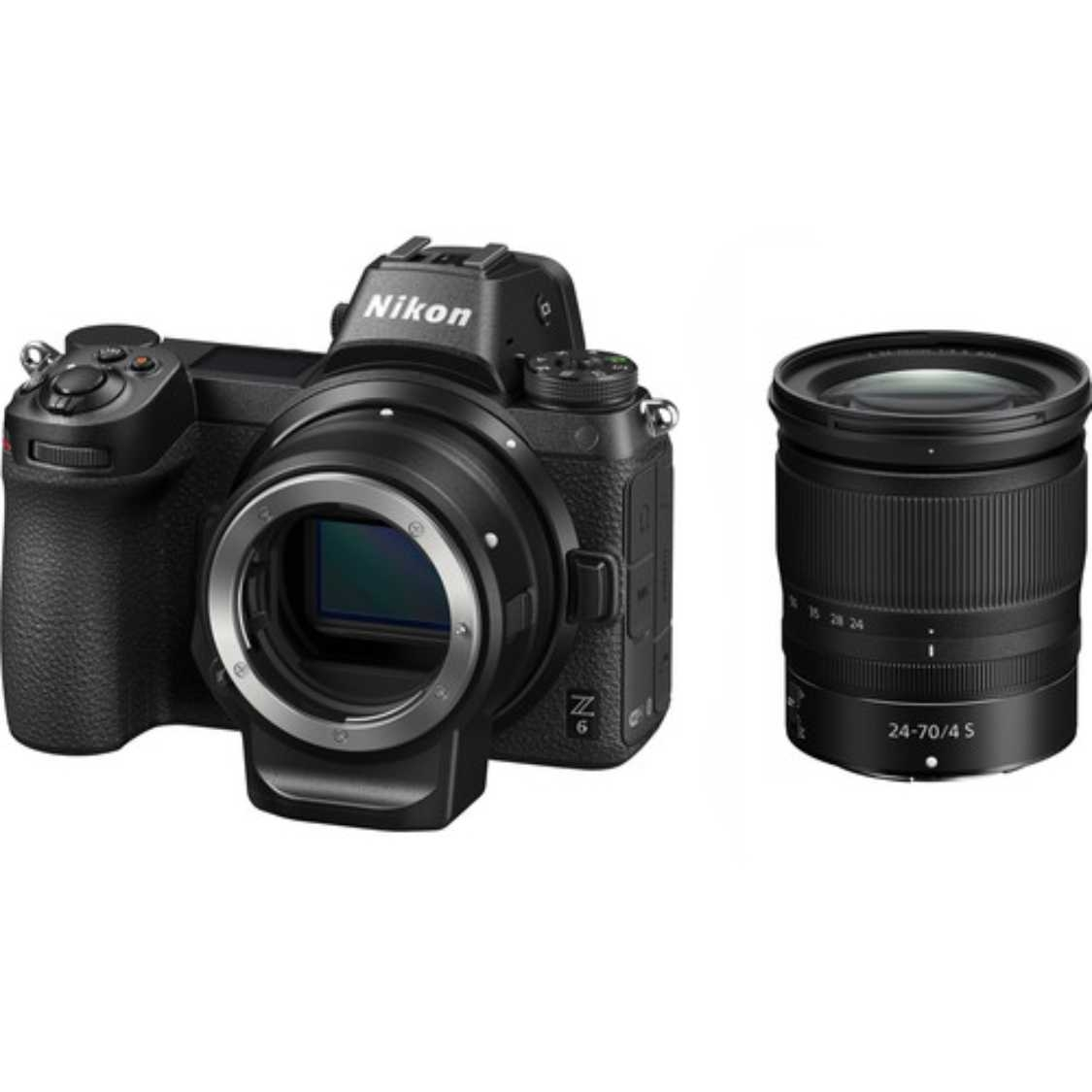 Nikon Z6 with 24-70mm f4.0 S Lens and FTZ Adapter