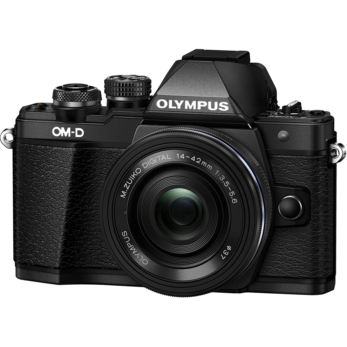 Olympus E-M10 Mark II (black) with EZ 14-42mm Lens
