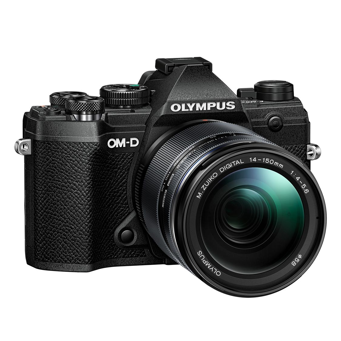 Olympus E-M5 Mark III Camera (black) with 14-150mm Lens