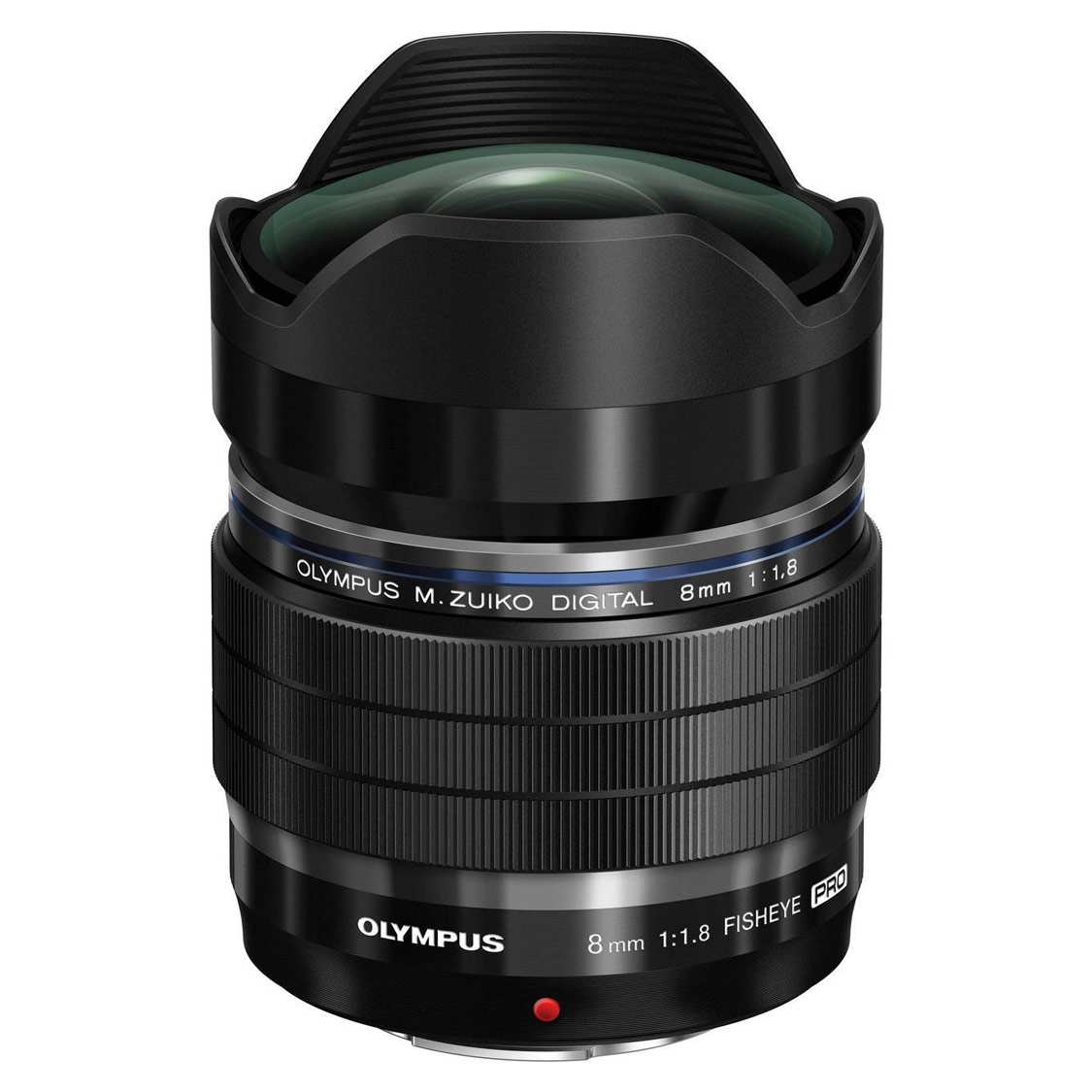 Olympus PEN ED 8mm F1.8 Fisheye Pro Lens (black)