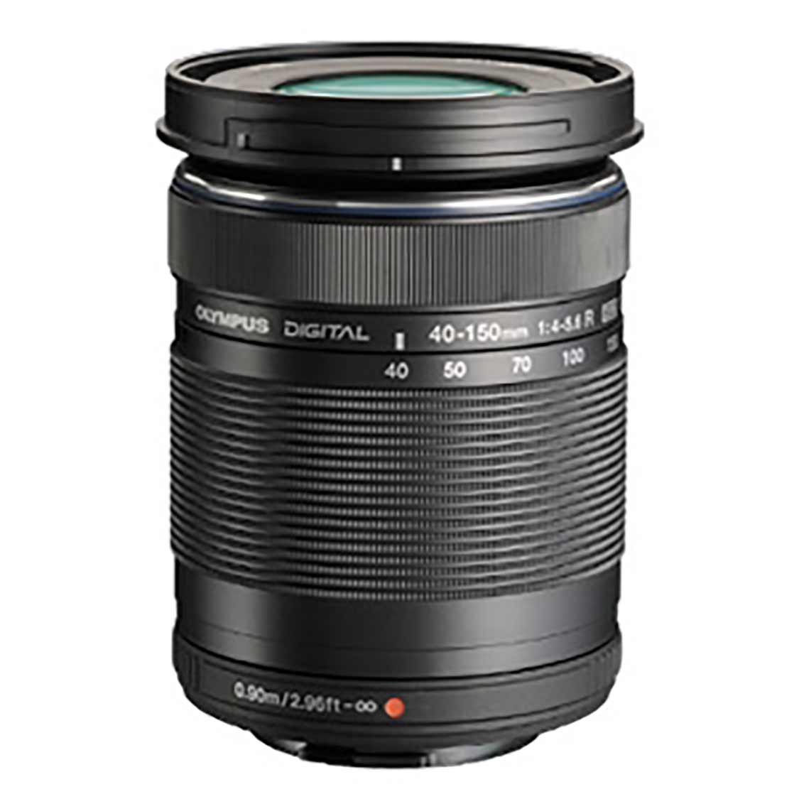 Olympus ED 40-150mm F4.0-5.6 R Micro Four Thirds Lens (black)