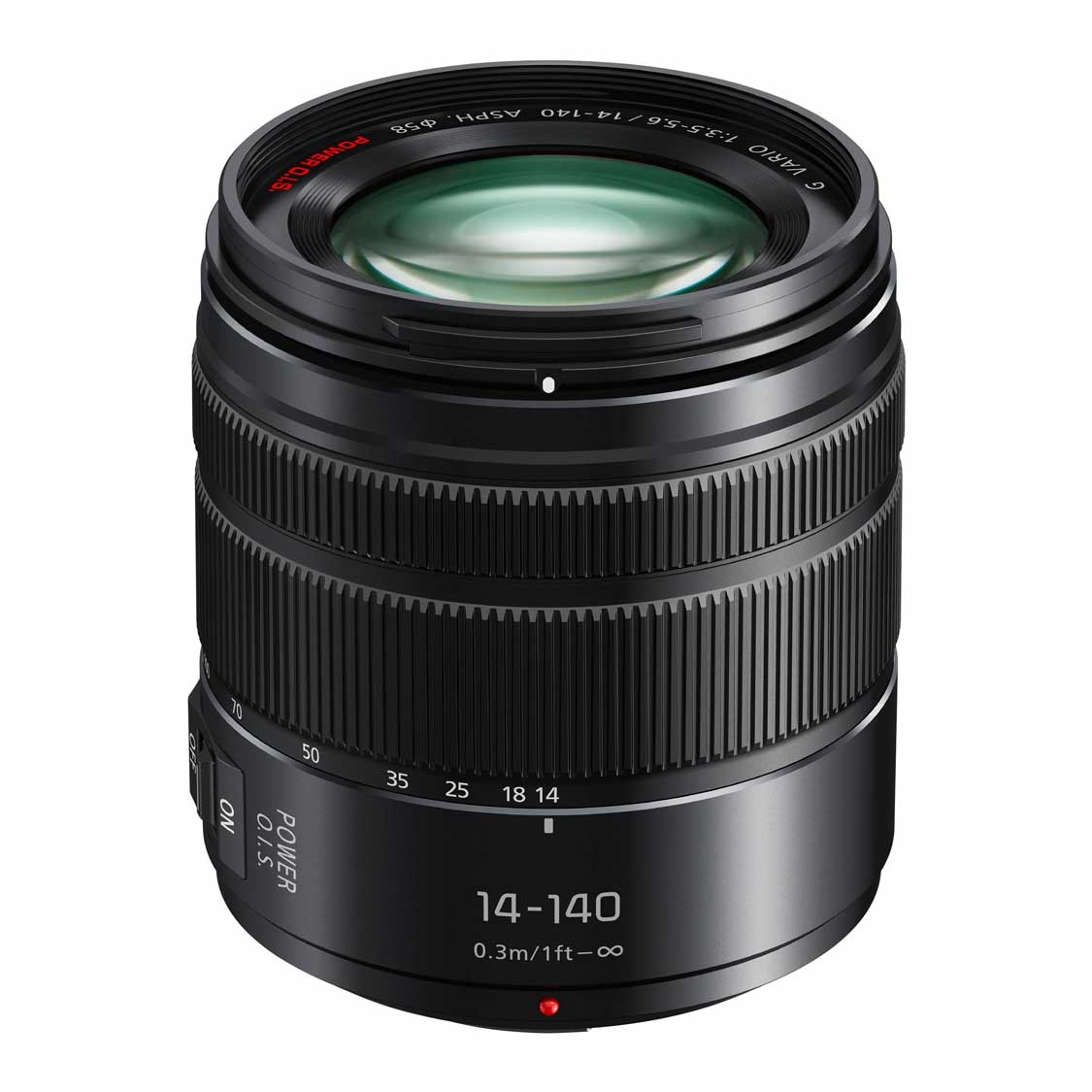 Panasonic 14-140mm F3.5-5.6 II OIS Lens (Micro Four Thirds)