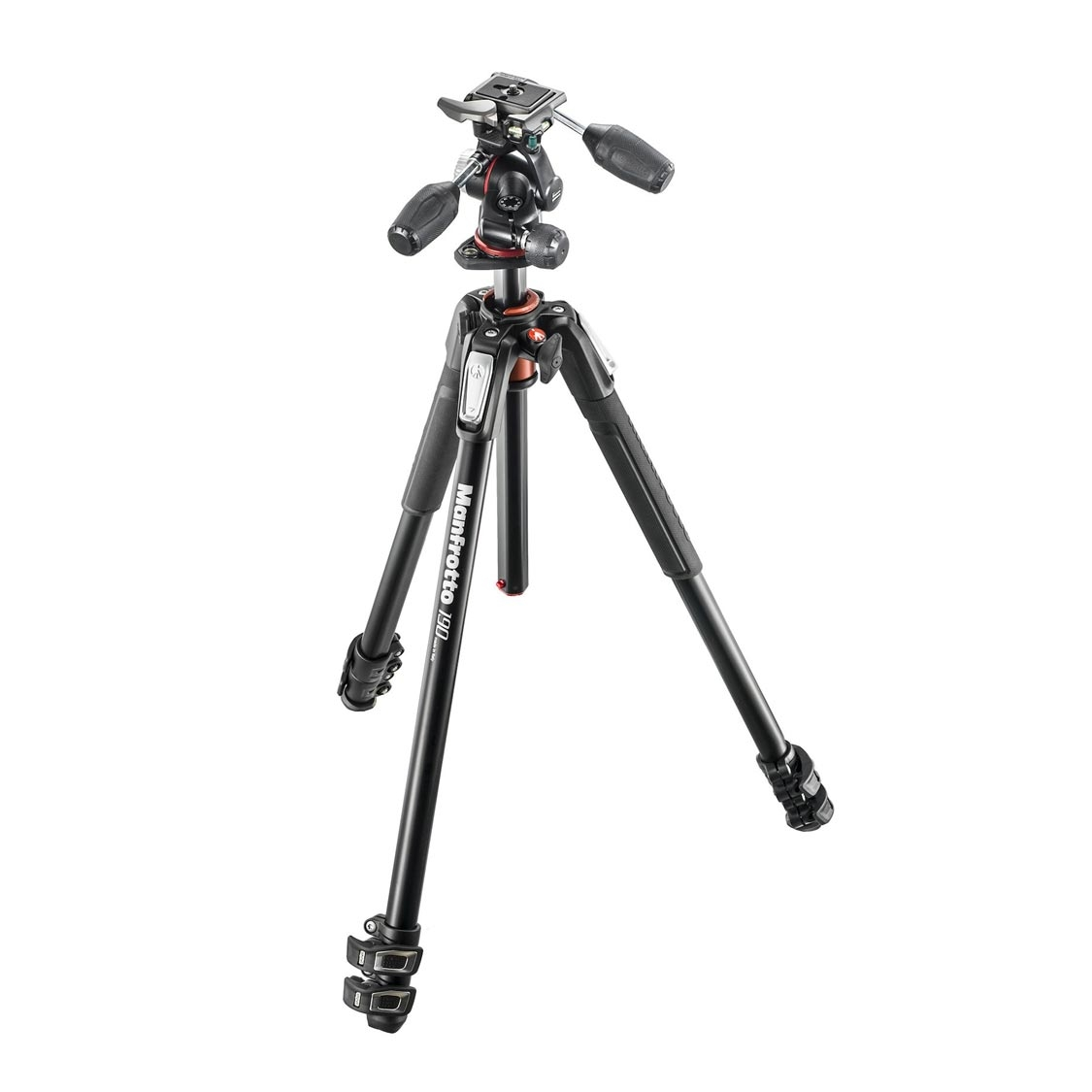 Manfrotto MT 190XPRO3 Tripod with MHXPRO 3-way Pan Head