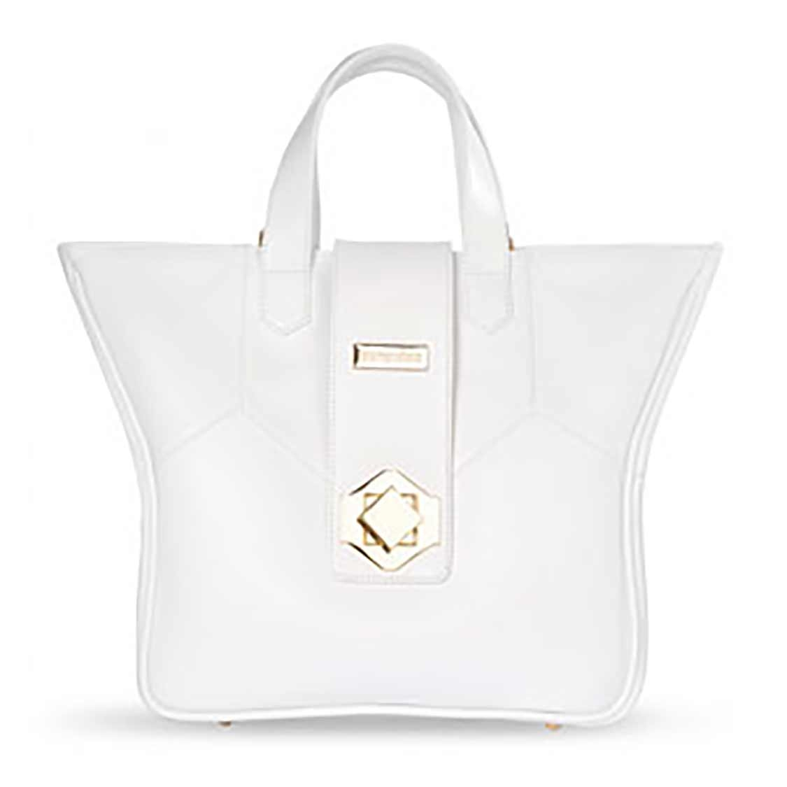 Pompidoo Kimberly Noble Bag (Jazzy White)